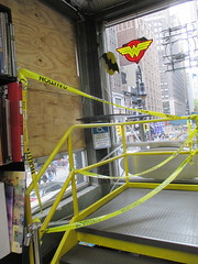 Man Jumps Out Midtown Comics Store 2nd Floor Window 2254