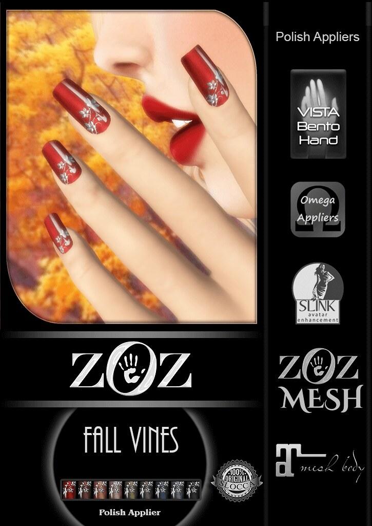 {ZOZ} Fall Vines pix L - TeleportHub.com Live!