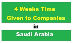 4 Weeks Time given to Companies to correct their Status
