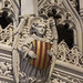 Detail of Bishop Lloyd's tomb, Cathedral Church of St. Nicholas, Newcastle upon Tyne, UK