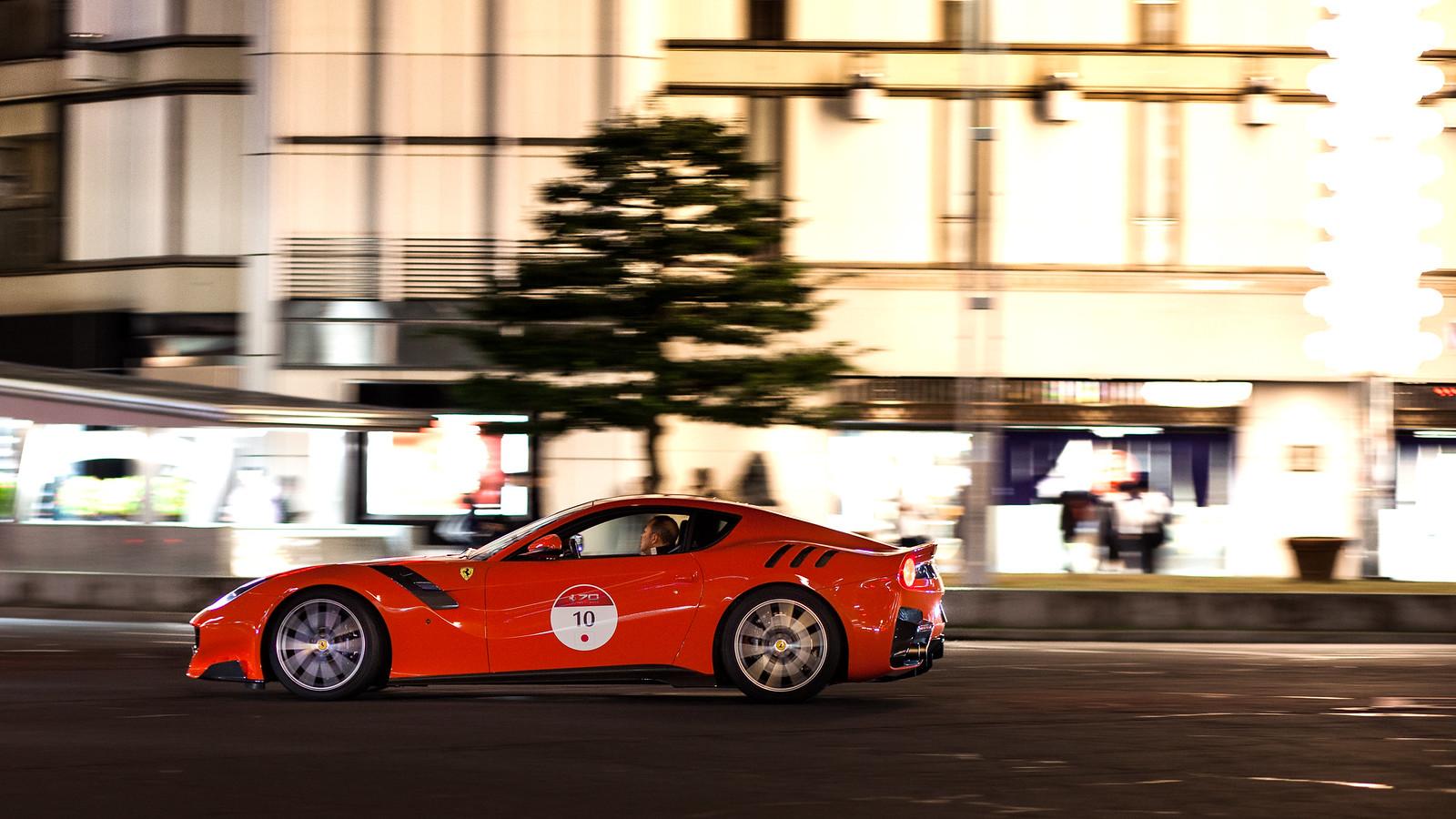 Ferrari 70th anniversary in Japan - F12 tdf (3)