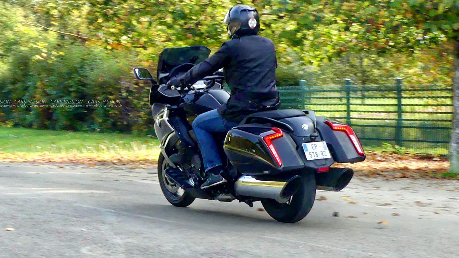 Essai moto BMW K16100B Bagger 2017