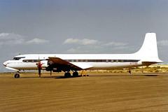N777EA   Douglas DC-7C [45549] (Pyramid Oil) Phoenix-Goodyear~N 16/10/1998