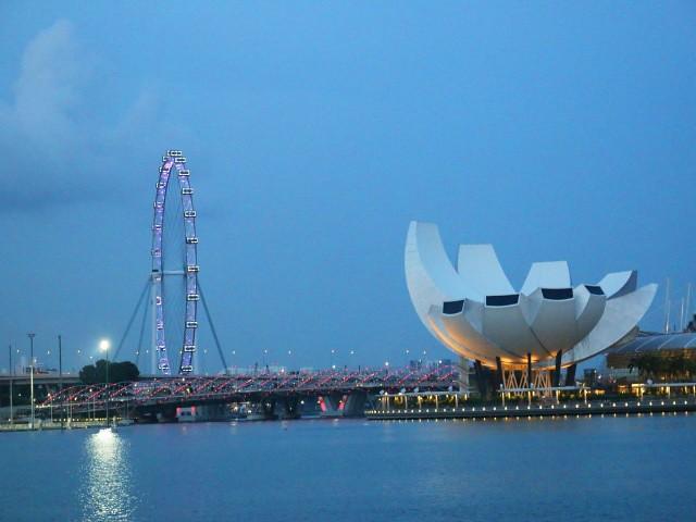 marina bay obiective turistice singapore 1