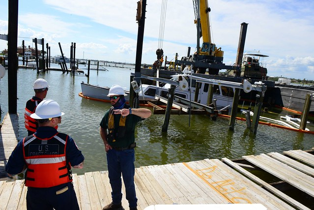 Hurricane Harvey Vessel Recovery Operations
