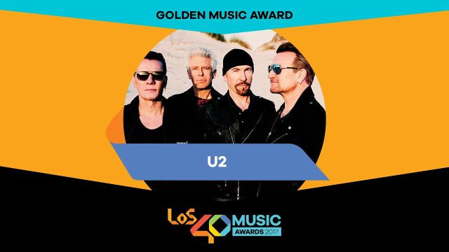 U2 Golden Award - Los40 Awards