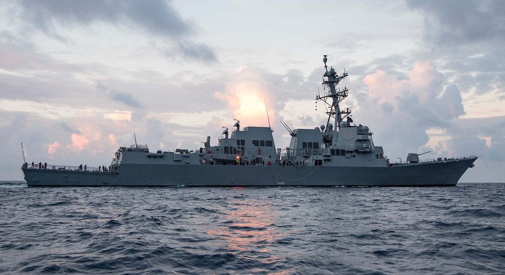 EVERETT, Wash. - The newly commissioned Arleigh Burke-class guided-missile destroyer USS Ralph Johnson (DDG 114) is scheduled to arrive at its homeport of Naval Station Everett, April 27.