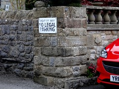 Illegal Parking Is OK? Sept 2017