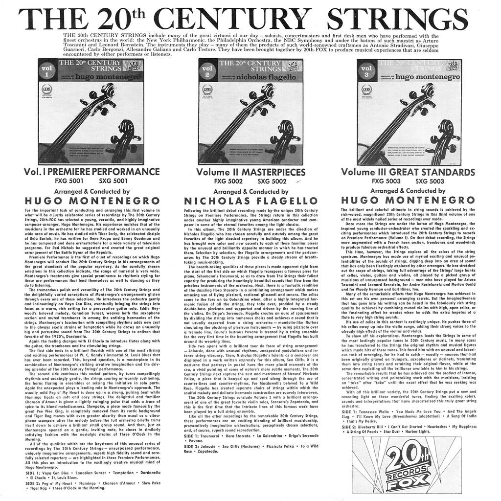 The 20th Century Strings Volume 2