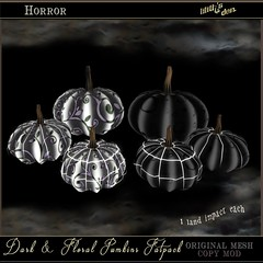 Lilith's Den Dark and Floral Pumpkins Fatpack