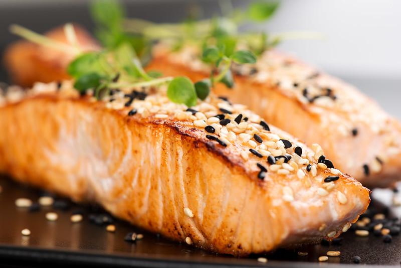 Salmon at Ibis Singapore Novena