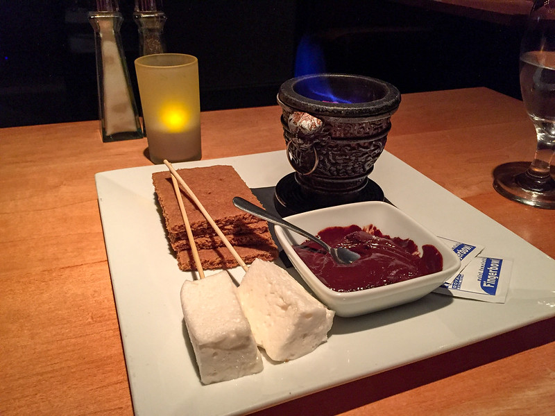 S'mores at The Cellar in Corning, New York