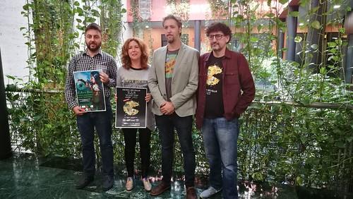 Presentación del torneo Alea Bowl y las jornadas Retro Sevilla