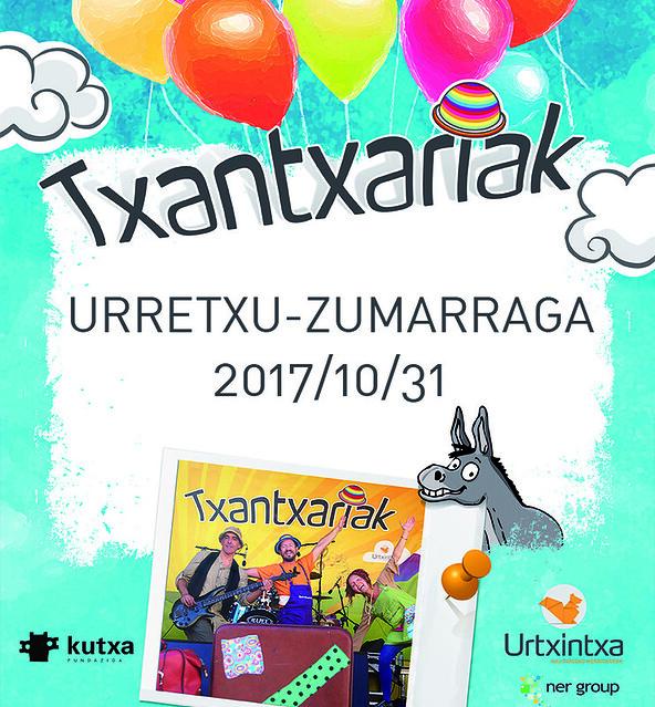 Txantxariak- Urretxu-Zumarragan