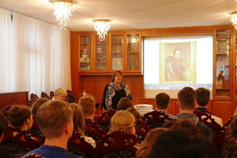 В Вене в Российском центре науки и культуры прошли мероприятия, посвященные жизни и творчеству М.Ю. Лермонтова, подготовленные музеем-заповедником «Тарханы».