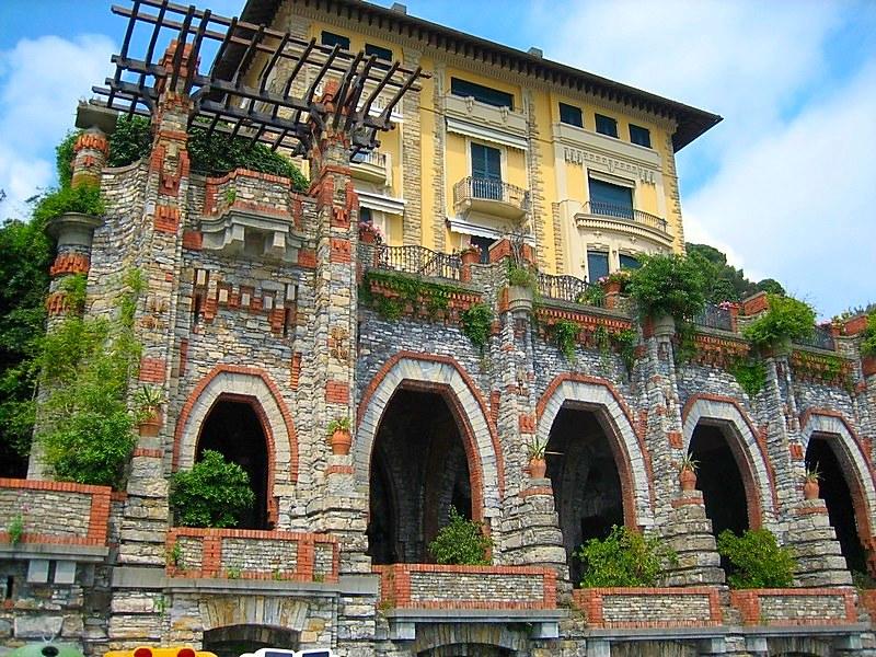Santa Margherita Italian tourist resort