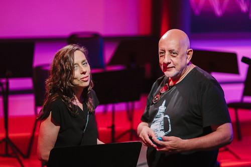 Marcelo Brissac e Isabel Diegues