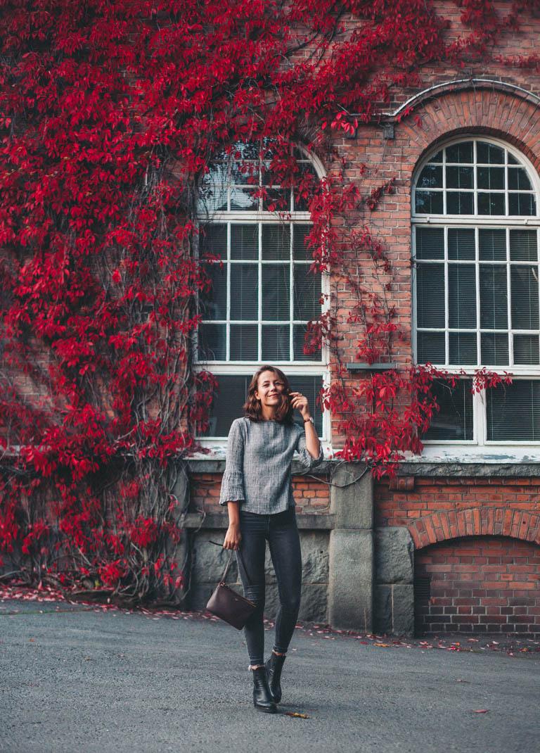 autumn red wall mango shirt-17