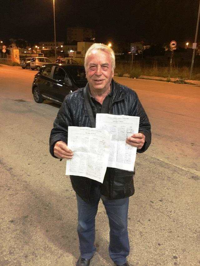 Noicattaro. Petizione immigrati intero