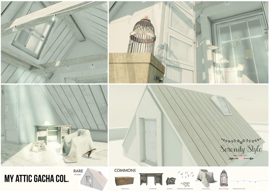 Serenity Style- My Attic Gacha Col. - TeleportHub.com Live!