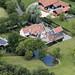 Loom's Farmhouse - a Grade II Listed Building in Burgh, Suffolk aerial uk