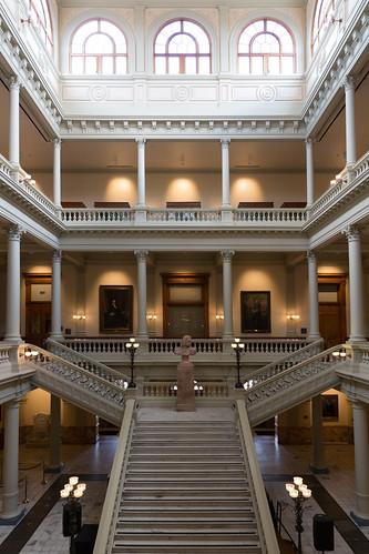 Georgia Grand Staircase (North Atrium)