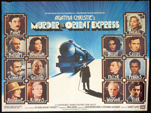 Murder on the Orient Express - 1974 - Poster 2