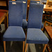 High back fabric dining chairs E25