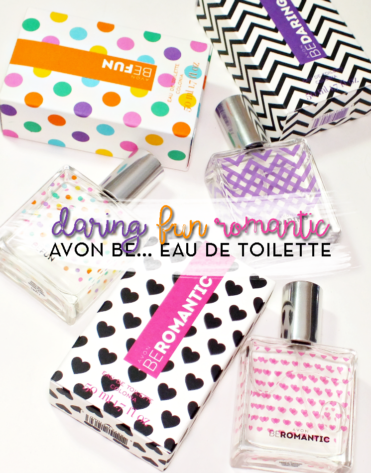 avon be daring romantic, be fun, be romantic eau de toilette (9)