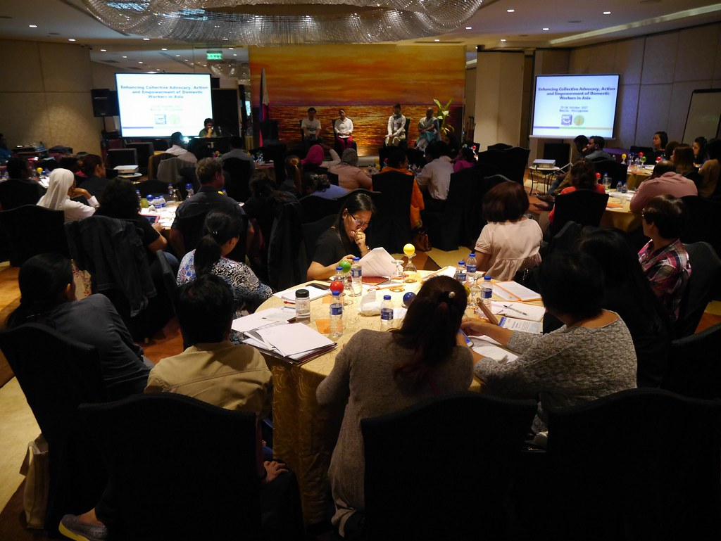 2017-10-22~24 Philippines: IDWF/MFA Regional Conference for domestic workers