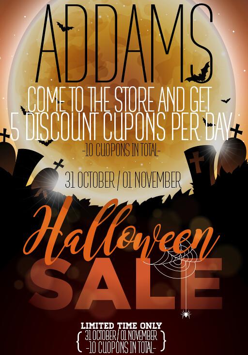 ADDAMS - Halloween!! ♥♥ - TeleportHub.com Live!