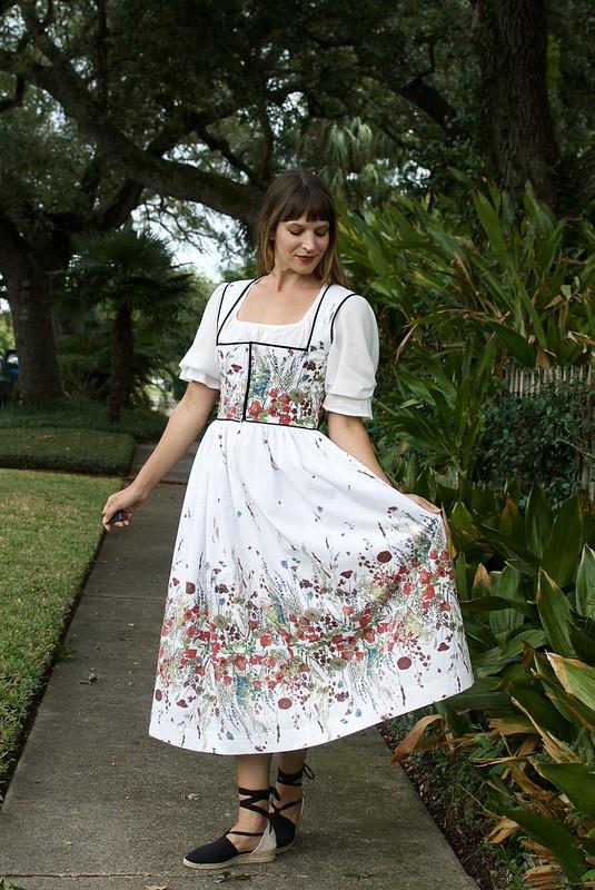 Mood Fabrics Austrian Dirndl