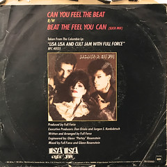 LISA LISA & CULT JAM WITH FULL FORCE:CAN YOU FEEL THE BEAT(JACKET B)