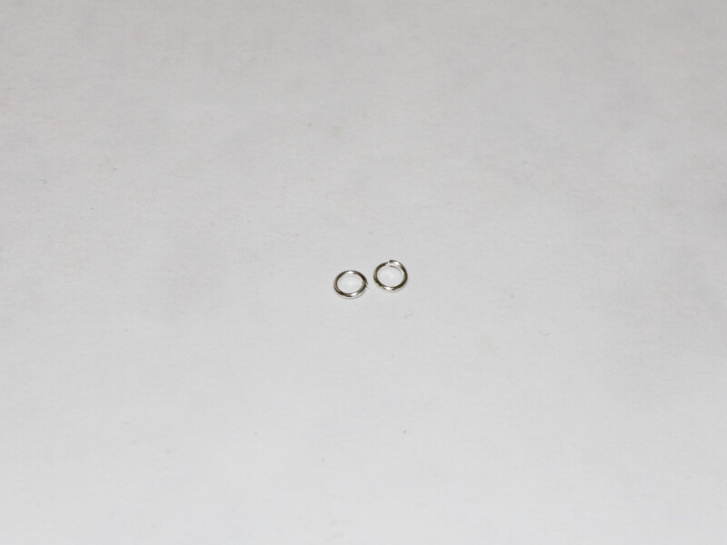 two medium jump rings