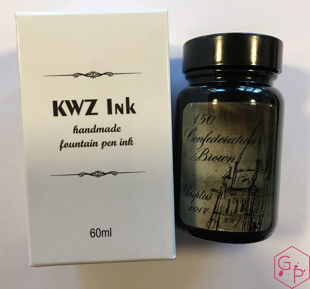 Ink Shot Review Scriptus 2017 x KWZI 150 Confederate Brown 1