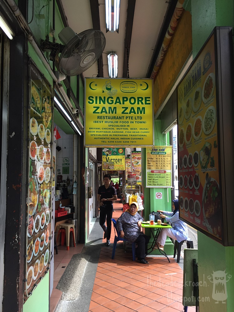 biryani, briyani, food, food review, halal food, indian muslim, nasi biryani, nasi briyani, north bridge road, review, signapore, singapore zam zam, zam zam, masjid sultan,sultan mosque