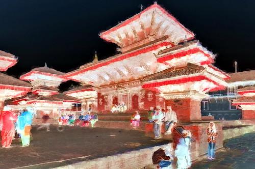 Nepal - Kathmandu - Temple - 46bb