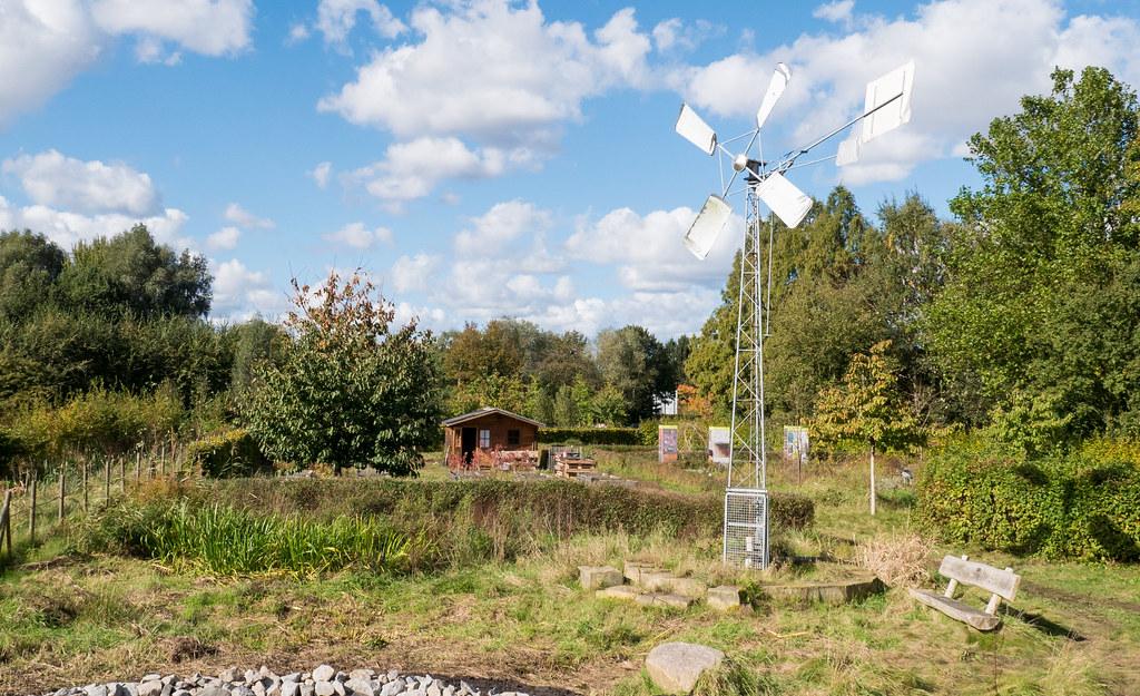 Naturerlebnisgarten im Inselpark, 08.10.17