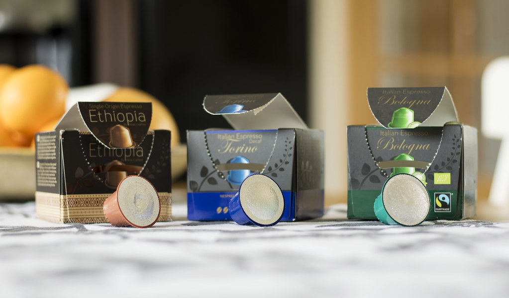Real Coffee Pods for Nespresso