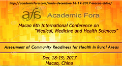 Macao, China Conference 18-19 December