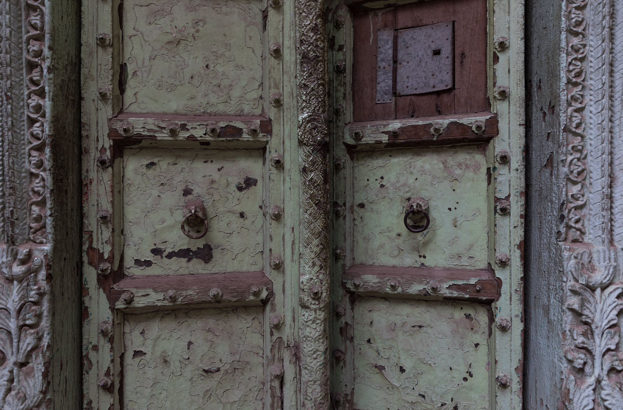 Old doorway in Old Delhi