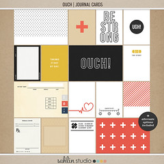 Ouch (Journal Cards) by Sahlin Studio