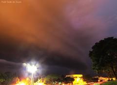 Shelf Cloud em Umuarama, PR, Brasil, 10/10
