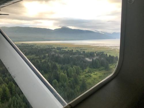 Cessna flight from Gustavus to Juneau