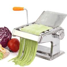 304 Stainless Steel Pasta Maker Machine 3 Rollers Manual Multi-Functional Noodle Maker Machine (1043674) #Banggood