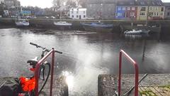 Yesterday's flooded quay back to normal! . . #Ireland #Kinvara ##Ophelia #travel