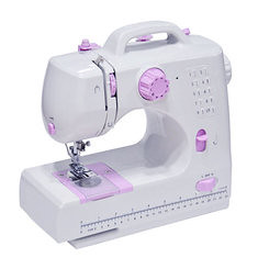8 Stitches Multifunction Electric Overlock Sewing Machine Household Sewing Tool with LED (964260) #Banggood