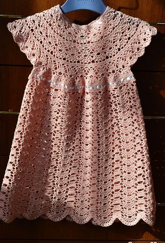 ✌I loved this model of children's dress, which crochet pattern most beautiful simple and free step by step I loved it 💕💋