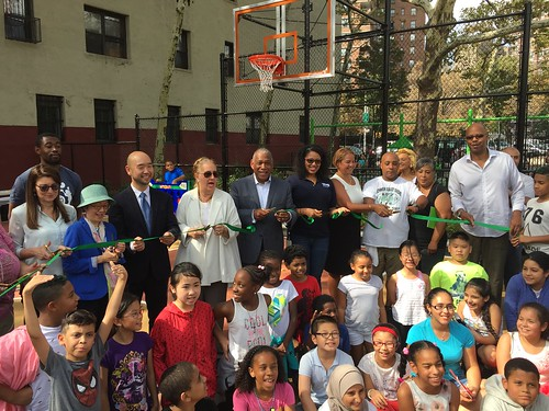 CPI Ribbon Cutting - Sol Lain Playground