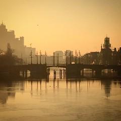 Amsterdam chilly Sunday morning